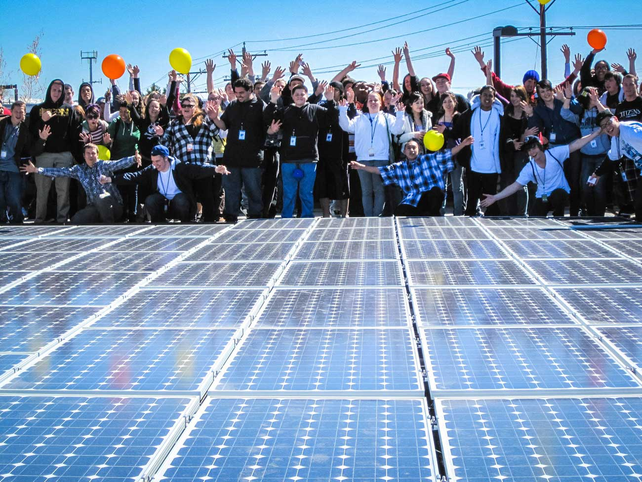 Black Rock Solar, a nonprofit entity, installed a 31 kilowatt photovoltaic array at Rainshadow Community Charter High School in Reno, Nevada.