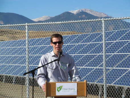 Community Solar Garden Announcement by Clean Energy Collective