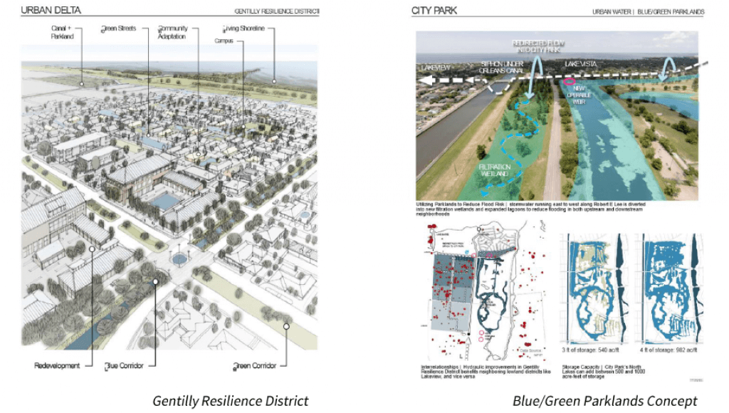 Gentilly Resiliency District maps