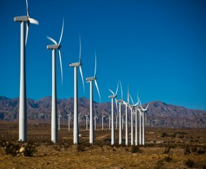 The US will see many more renewable energy projects like the Palm Springs Wind field emerging if the budget increases are approved