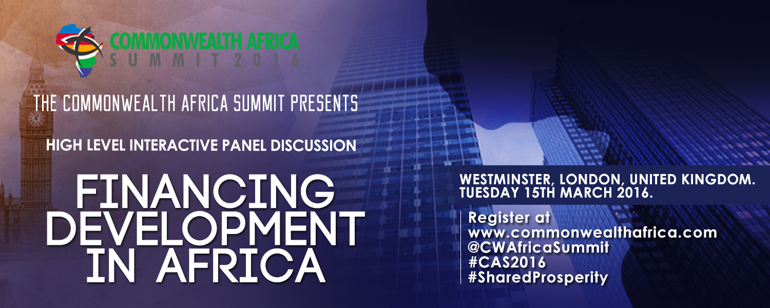 Financing Development in Africa - CommonWealth Africa Summit
