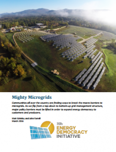 LISR Mighty MIcrogrid Report