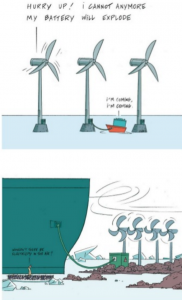 marine battery energy delivery