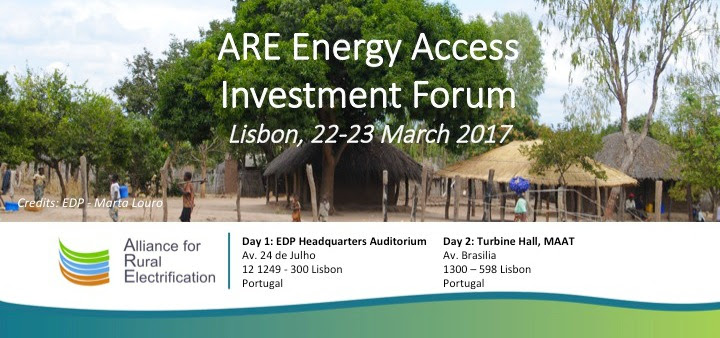 alliance for rural electrification investment event