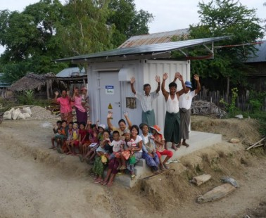 Solar Microgrid Helps Save Lives, Brighten Prospects in Rural Myanmar