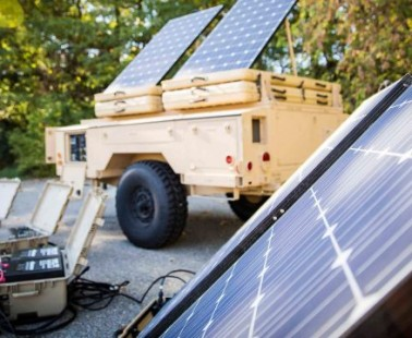 Marine Expeditionary Force Tests Microgrids on Land, In the Air